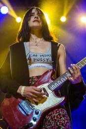Warpaint performs at the Coachella Music Festival in Indio, California on April 15, 2017. (Photo: Erik Voake)