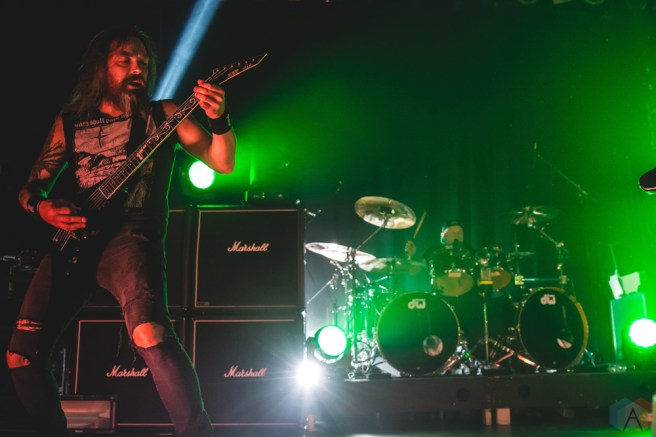Bullet For My Valentine performs at the Phoenix Concert Theatre in Toronto on June 22, 2017. (Photo: Tyler Roberts/Aesthetic Magazine)