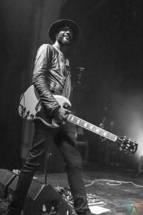 Gary Clark Jr. performs at the Danforth Music Hall in Toronto on June 13, 2017. (Photo: Katrina Lat/Aesthetic Magazine)