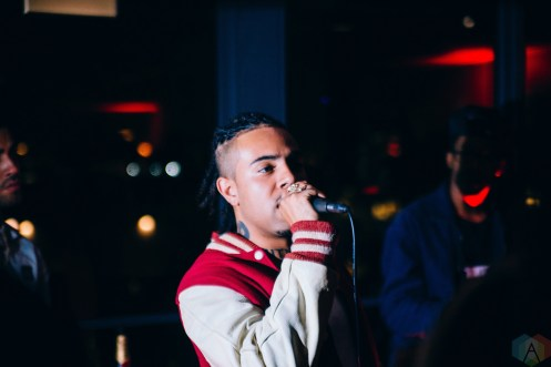 "Vic Mensa attends the listening party for ""The Autobiography"" at the Ace Hotel in Chicago on July 15, 2017. (Photo: Callie Craig/Aesthetic Magazine)"
