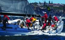 Start of the Rolex Sydney Hobart Yacht Race 2013