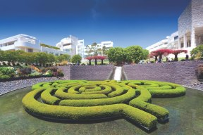 The gardens at The Getty Centre, Los Angeles