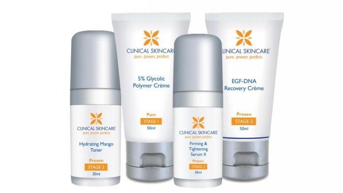 Clinical Skincare Part Range