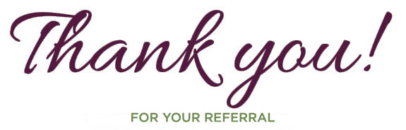 Thank you - Referral