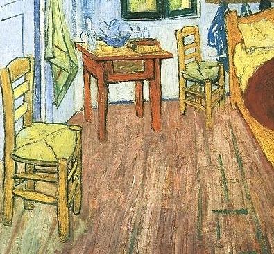 """van gogh's """"bedroom at arles"""" - aesthetic realism foundation"""