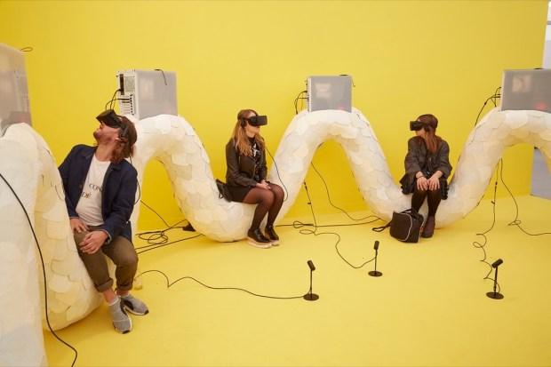 """Transdimensional Serpent"" Jon Rafman (2016), virtual reality work"