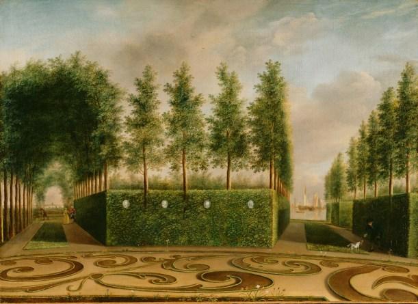 A Formal Garden, Janson, 1766