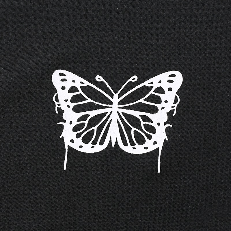 Contrast Color Butterfly