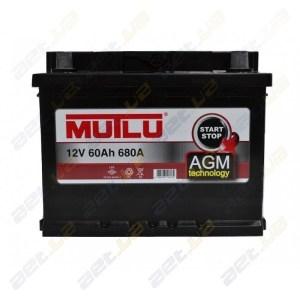 Автомобильные аккумуляторы Mutlu AGM 60 AH
