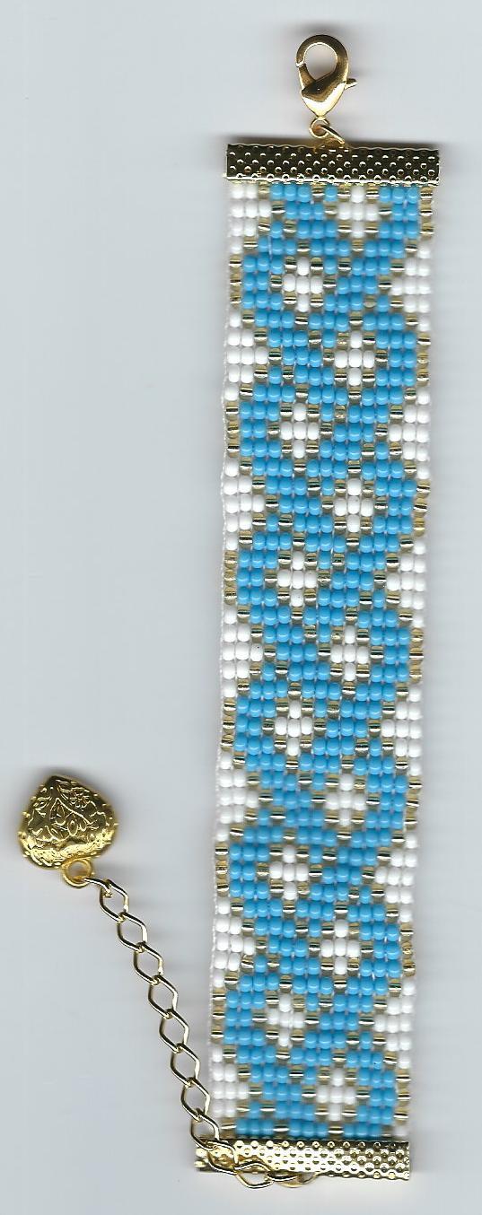 esquema 011, azul e branco