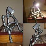 Luminária Robô