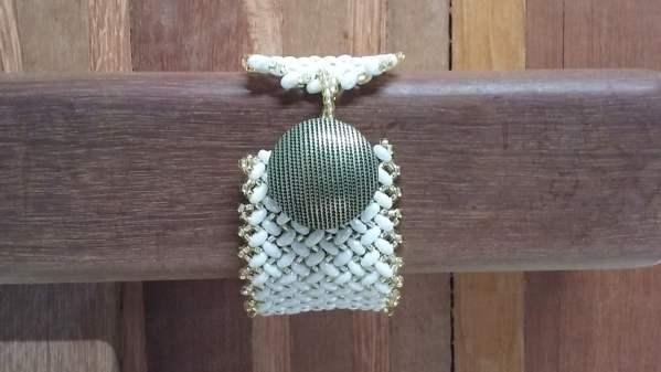 bracelete de miçangas 015 3