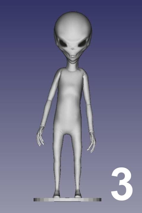 ET Grey Zorak Pose 3