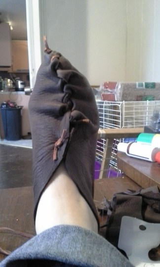shoe top