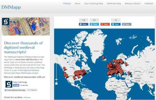 Digitized Medieval Manuscripts site