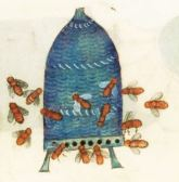 Skep from the Luttrell Psalter, 1325-1335 English