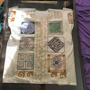 Talismanic Shirt by Lady Sumayya al Ghaziya. Photo by Arianna.