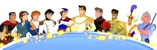 The current gamut of Disney Princes, courtesy of http://disneyprincess.wikia.com