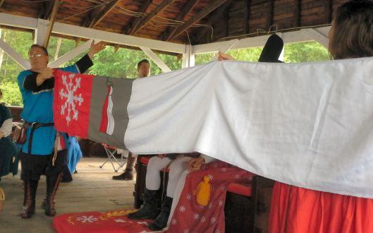 The Scarlet Guard Challenge banner.