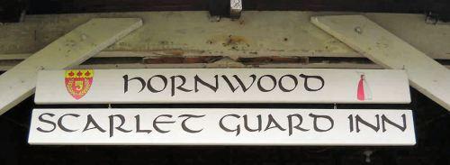 Scarlet Guard Inn sign - JM
