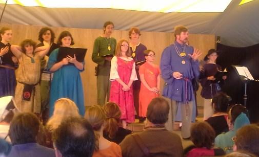 The Youth Choir. Photo by Mistress Arianna.