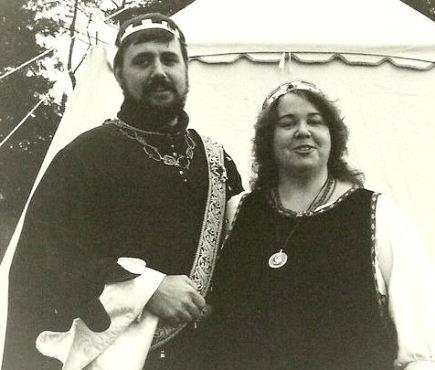 Countess Aidan and Earl Shannon, c. 1990. Photo by Sir Andreas Hak.