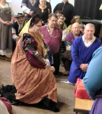THLadu Madeleine receives a Millrind.
