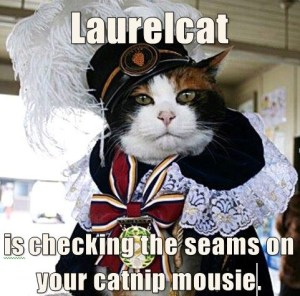 Laurelcat wants you to use social media!