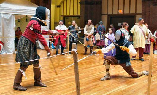Fencing Will vs Jan