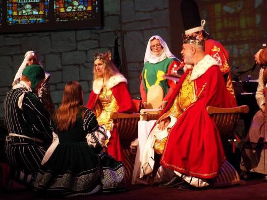 Tindal and Etain ducal investiture