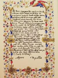 Scroll by Lord Arias Beltran del Valle, Shoshido Tora, and Thora Riddarsdottir