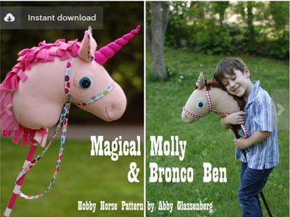 unicorn-hobby-horse