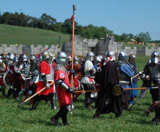 Pennsic fighters - Aine