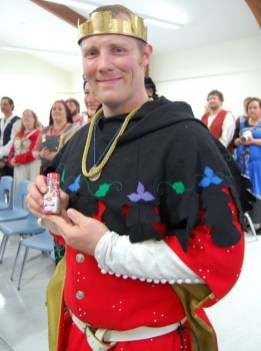 Count Cellach is a winner. Winners get sprinkles. Photo by Lady Aine ny Allane.