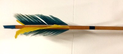flu flu arrow fletching