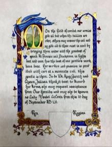 Ysabel AoA scroll