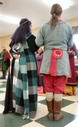 Mistress Ekaterina and THLord Hrolfr step down, and Lord Robert is named A&S Champion.