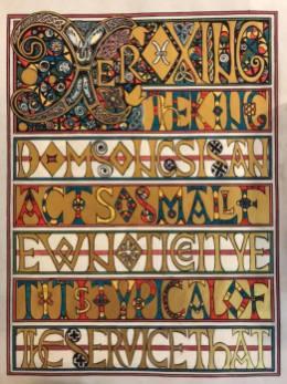 Ceindrech Fleur scroll 1