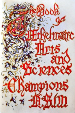 Champs book title page