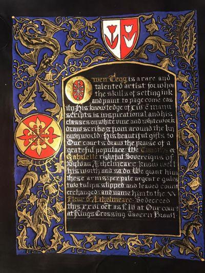 Owen Fleur scroll