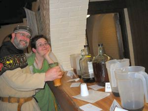 Brandubh and Rivka brewing contest