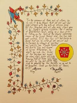 Scroll by Master Caleb Reynolds