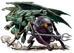 Nycaloth and Mezzaloth by Wayne Reynolds