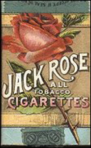 Cigarette packet I made for Zachary, ca. 1900