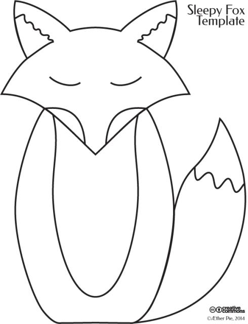 Sleepy Fox Template