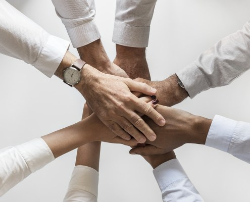 trabajar en equipo