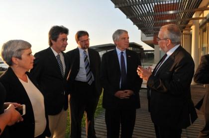 AEVC reúne-se com o embaixador dos Estados Unidos da América