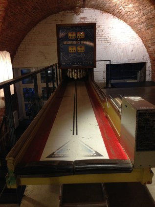 Vintage arcade museum