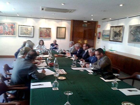 Reunión de presidentes de Academias Gastronómicas Autonómicas