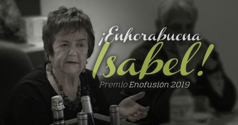 ¡Enhorabuena Isabel!